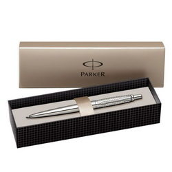 PARKER PIX JOTTER PREMIUM SHINY STAINLESS STEEL CHISELLED CT