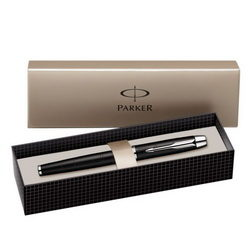 PARKER IM PREMIUM METALLIC MATT BLACK CT