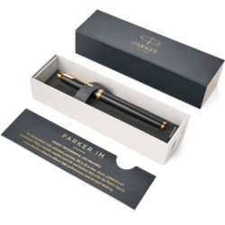 PARKER IM PREMIUM BLACK GOLD ROLLER GT ROYAL